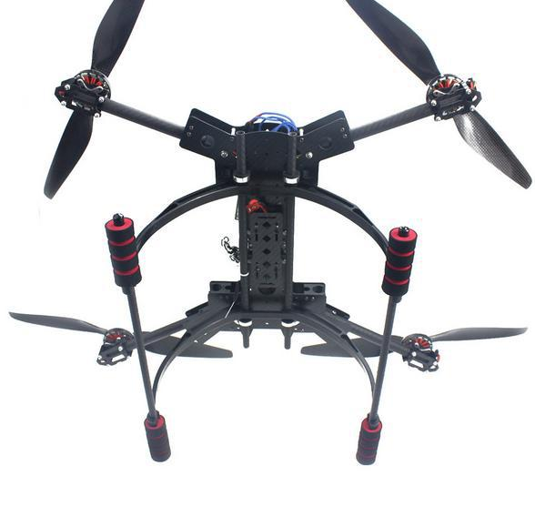 RC Full RTF Hexacopter GPS Drone HMF600 Carbon Fiber Foldable H Shaped Quadcopter APM2 8 with