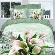 popular comforter set green