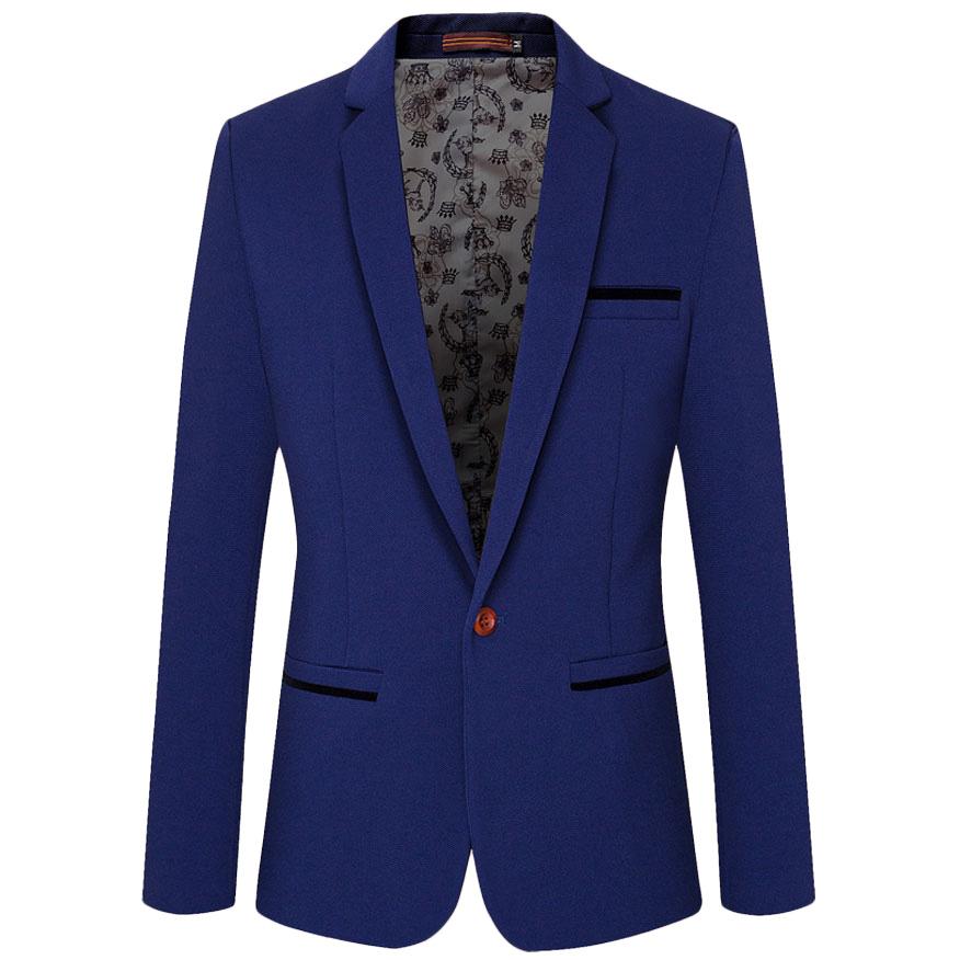 Popular Royal Blue Blazer Men-Buy Cheap Royal Blue Blazer ...