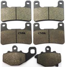 FL+FR+R Brake Pads Set fit KAWASAKI 1000 ZX-10R Zx 10r ZX10R 2009 2010 2011 2008 – 2010