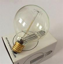 G95 Edison Bulb Lamp E27 Bulbs 110V 220V New Warm White Dragon Ball Lamp Retro Incandescent Bulbs Living Room For Pendant Lamp(China (Mainland))