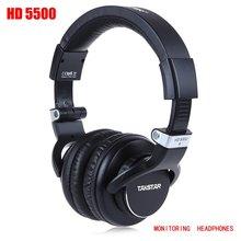 Ergonomic Design Takstar HD5500 Over Ear Monitor Studio Dynamic Headphones Headsets with 180 Degree Swivel Ear Cup Earphone (China (Mainland))