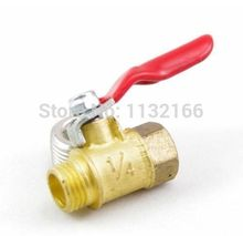 "1/4"" BSPP Connection Air Male-Female Full Ports Brass Pipe Ball Valve(China (Mainland))"