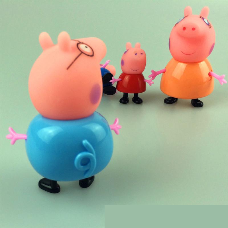 смотреть мультфильм пластиковая свинка пеппа игрушка
