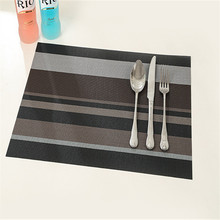 Placemat fashion dining table mat disc pads bowl pad coasters waterproof table cloth pad slip-resistant pad (China (Mainland))