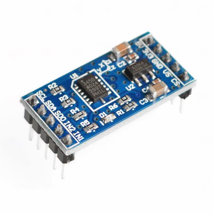 ADXL345 3-axis Digital Gravity Sensor Acceleration Module Tilt Sensor Arduino