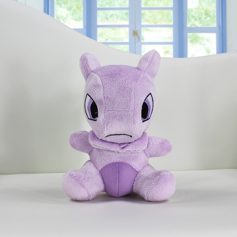 Pokemon Mewtwo Plush Doll Toy Stuffed Dolls 14cm Figure doll Gifts for children Free Shipping<br><br>Aliexpress