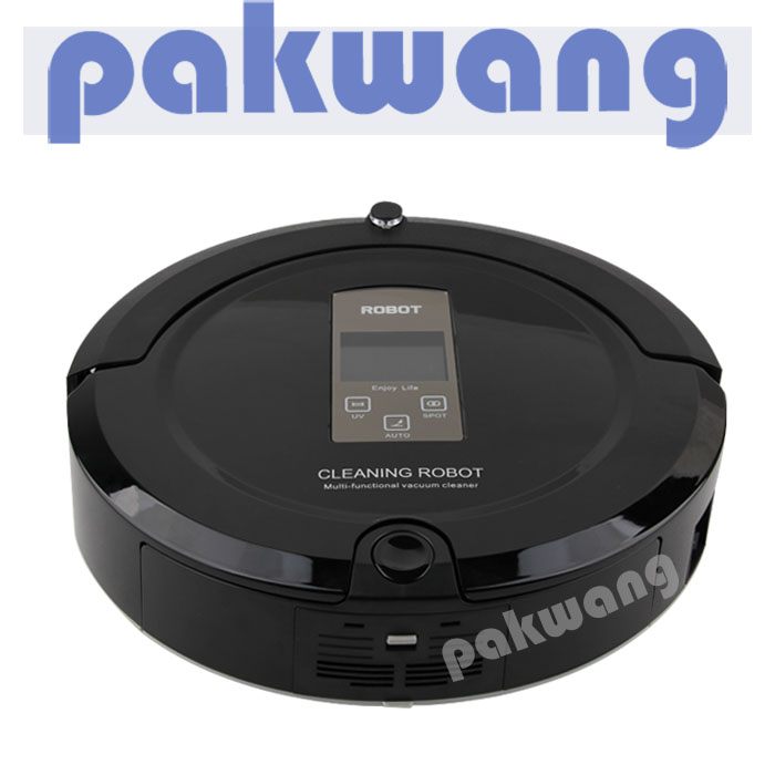 A325 household robotic vacuum with Large LCD display cleaning robot 4 in 1 mutifunctional Robot Vacuum Cleaner floor sweep