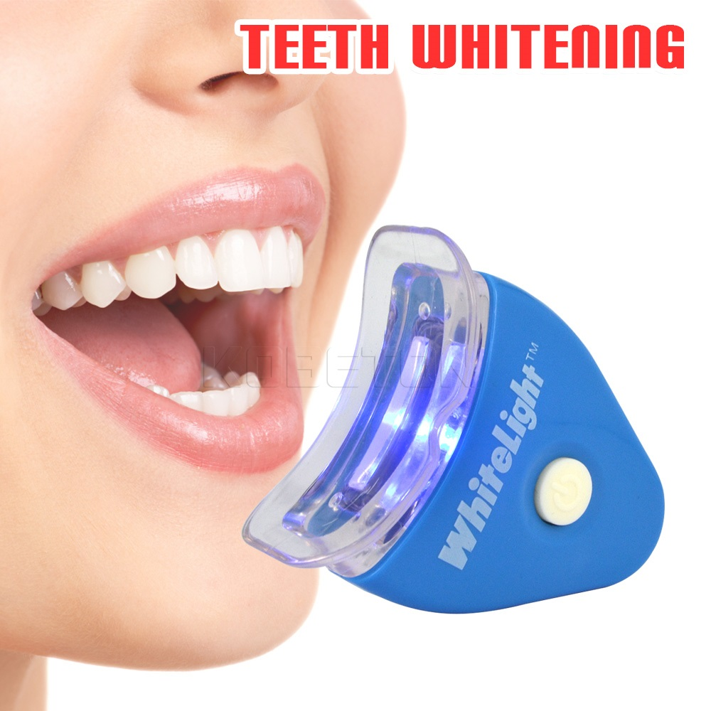 NEW Hot White LED Light Teeth Whitening Tooth Gel Whitener Health Oral Care Toothpaste Kit For Personal Dental Care Healthy(China (Mainland))