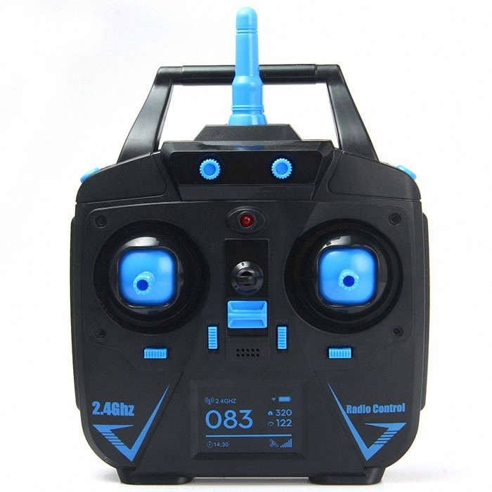 JJRC H98 2.4GHz 4CH 6 Axis Gyro RC Quadcopter Drone with 0.3MP Camera Headless Mode One Key to Return with LED Light RC Toys