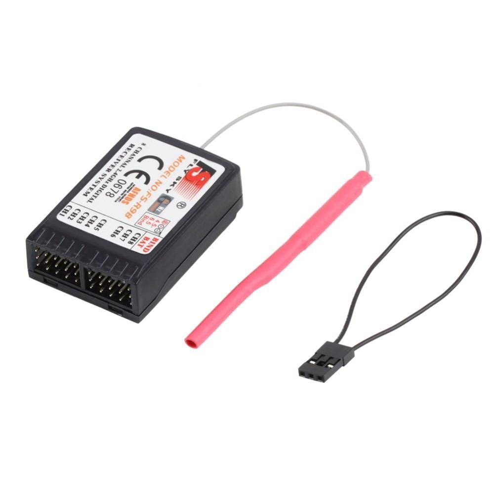 FlySky FS-R9B 2.4G 8CH Receiver RC Digital RX Radio System for FS-TH9X / FS-TH9X-B Transmitter for Rc Car/ Drone Free Shipping
