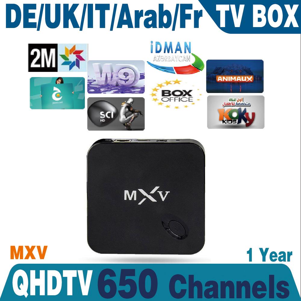 2016 font b iptv b font box MXV Andriod TV Box Amlogic S805 WiFi Build Android