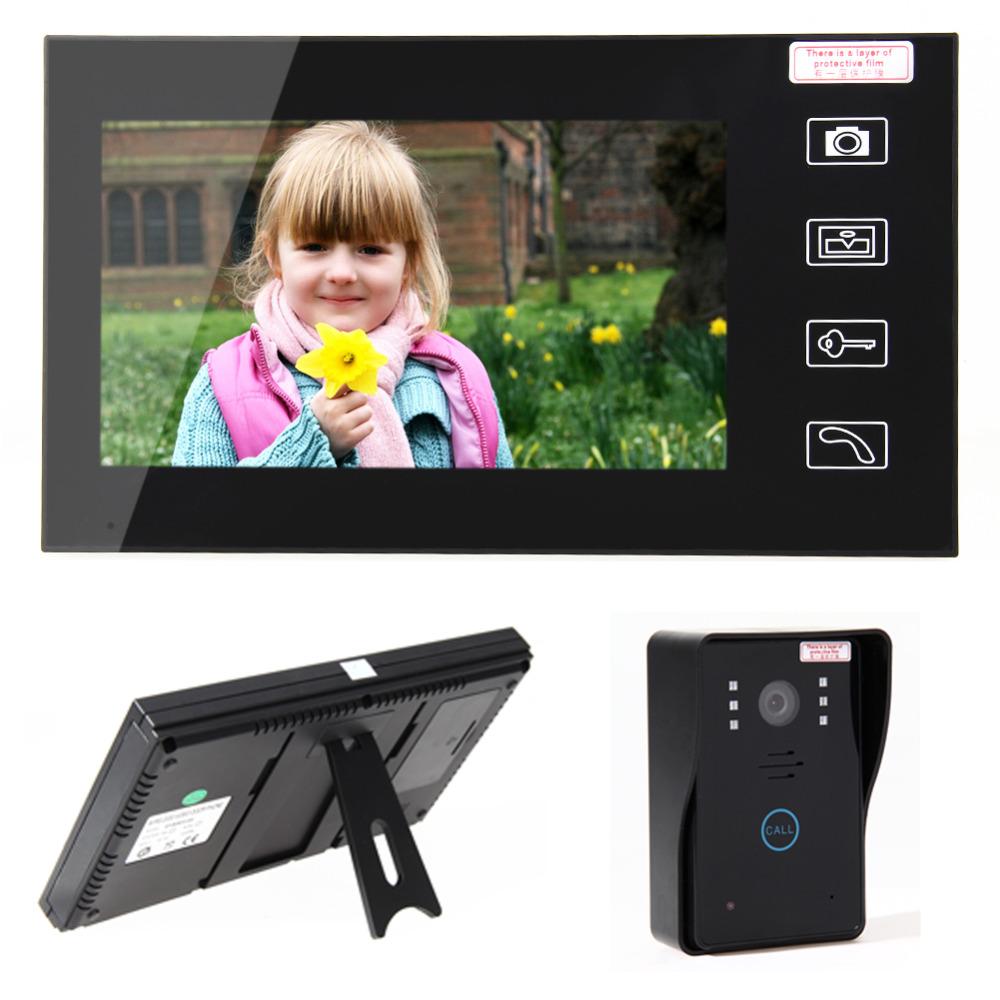 New 7 TFT 2.4G Wireless Video Door Phone Intercom Doorbell Home Security Camera Monitor Night Vision Transmission Door Bell <br><br>Aliexpress