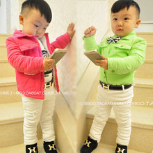 2015New brand hot designer kids PU leather belts children fashion letters buckle belt girls boys Leisure strap high quality(China (Mainland))