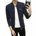 Bomber Jacket Men Casual Slim Jackets Mens Stand Collar Coat Jaqueta Masculina Veste Homme Brand Clothing