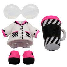 LOL Brinquedos Accessorries 1 set Surpresa Bonecas Roupas Óculos de Garrafa de Sapatos na Venda de Brinquedos para Meninas Bonecas da Coleção(China)
