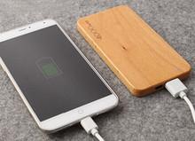 Деревянный power bank 4000 мАч Зарядки сокровище подходит для iPhone ipad Android мобильного phoneportable заряда зарядное устройство для мобильного(China (Mainland))