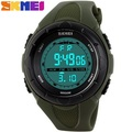 Skmei Brand LED Digital Sports Watches for Men and Women PU Strap Military Watch Water Resistant 50m Alarm Calendar Stop Watch