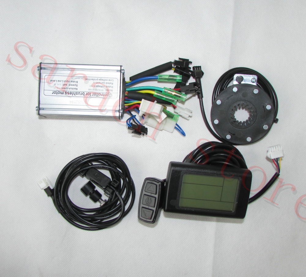 250w 36v  motor controller and  LCD2   electric  bicycle kit , electric bike kit