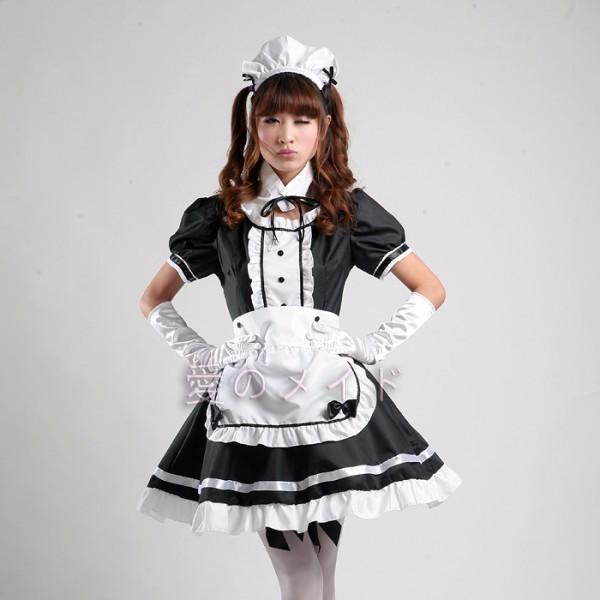 DB23978 sissy maid uniform-9