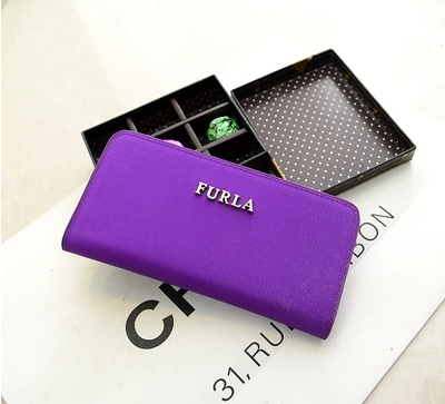 2014 NEW arrival high quality fashion brand women wallet female long design gift purse(China (Mainland))