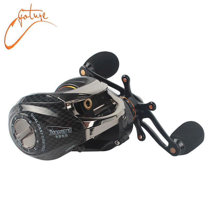 Goture black baitcasting reel 14 bearings 210g bait casting fishing reels left right hand cast wheel free shipping(China (Mainland))