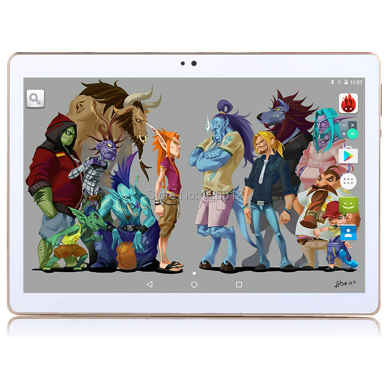 2016 Android tablet 10 inch Octa Core 3G Phone Call 4GB RAM 32GB ROM 1280*800 IPS Dual Cameras Android 5.1 GPS Tablets 10 10.1(China (Mainland))