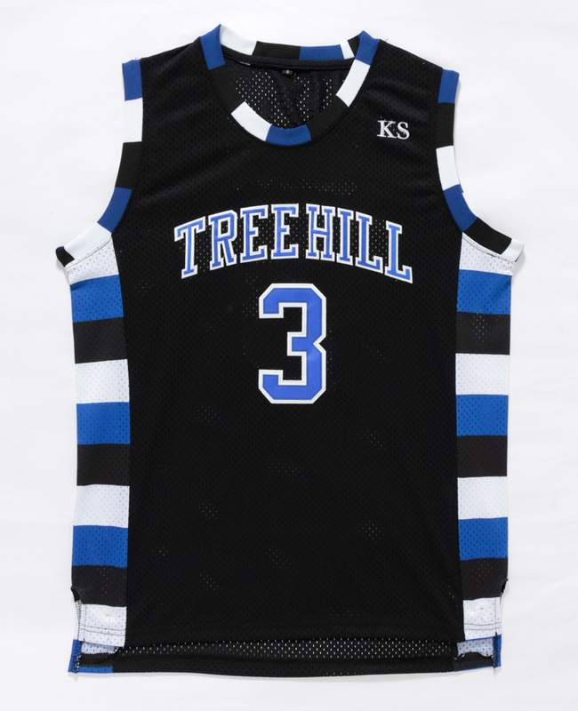 Cheap Film Throwback Basketball Jerseys,Nathan Scott 3 One Tree Hill Ravens Movie Basketball Jersey Free Shipping(China (Mainland))