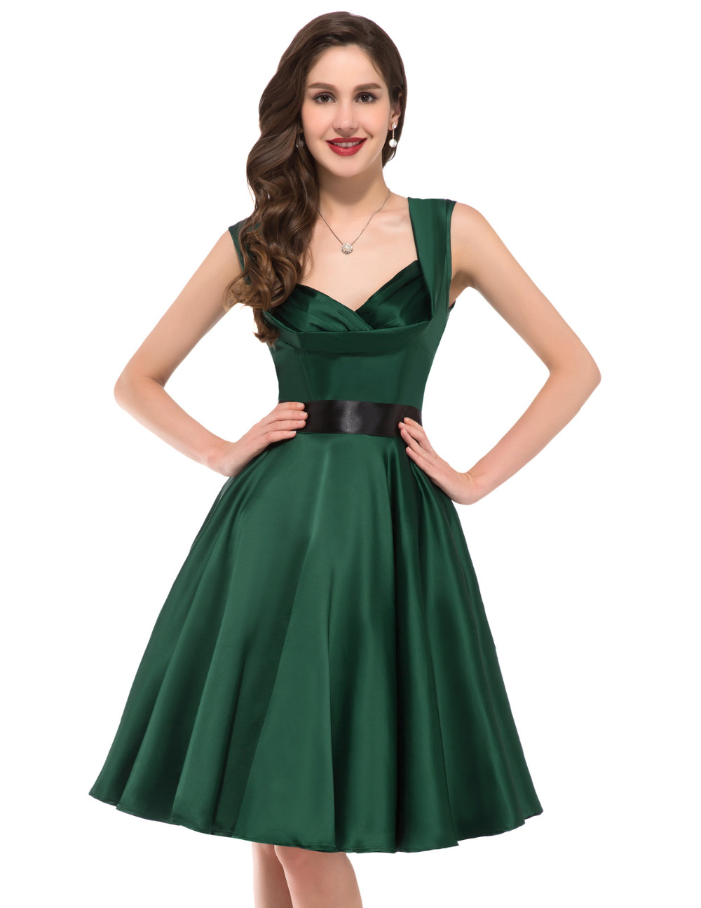 Online Get Cheap Emerald Green 50s Dress -Aliexpress.com - Alibaba ...