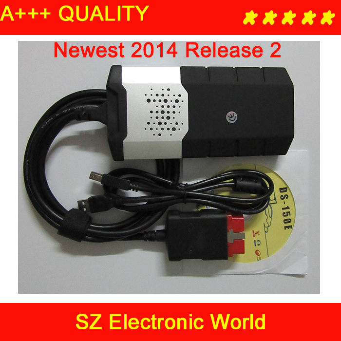 2014 Release 2 DS150E without Bluetooth 2014.2 CDP Pro need keygen Multi-language - SZ Electronic World store
