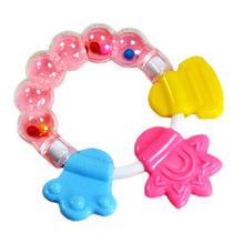 1 Stücke Silikon Baby Beißring Molaren Zahnbürste Säuglingstraining Zahn Niedlichen Kleinkind Glocke Spielzeug Massager(China (Mainland))
