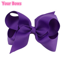 Buy  (20Pcs/Lot) 4 Inches Girls Hair Bows 20 Colors Bows Hair Clips Grosgrain Ribbon Boutique Bows Hair Accessories Cute Hairpins for $9.50 in AliExpress store