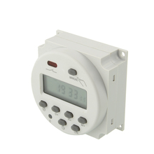 Electronic LCD Digital Programmable Timer Day/Hour/Minute Count For Home 220V(China (Mainland))