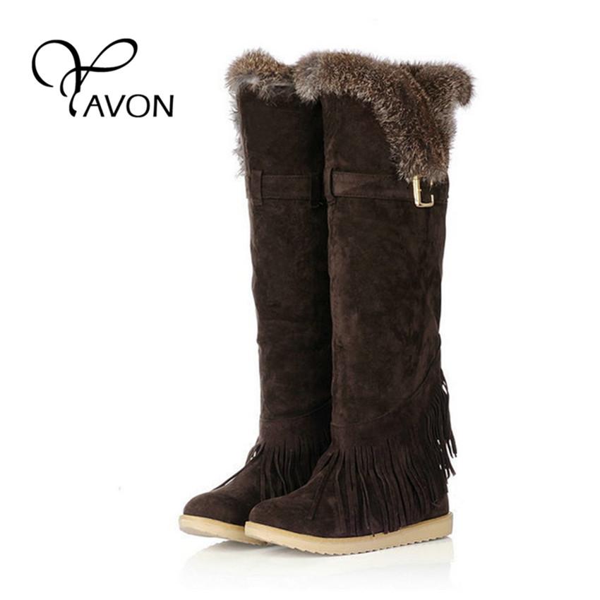 Creative Deer Fur Winter Handmade Women Boots