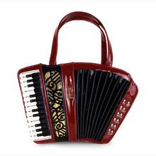 Amliya Women Vintage Handbag Accordion Bag Personalized Portable Shoulder Bags Preppy Style Crossbody Bags Messenger Bags BH627