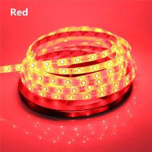 1/2/3/4/5m RGB Led Strip 3528/2835SMD 60Led/m Led Tape Ribbon light 12V Fita Diode Flexible Led String Stripe Bar Neon Led Lamp(China (Mainland))