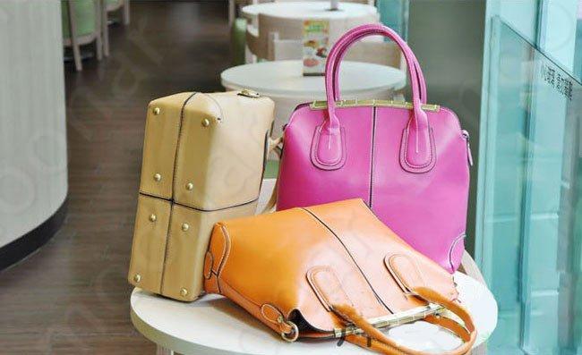 Hot Selling Korea Style Big Brand Zipper Handbags PU Tote Bag