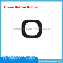 """50pcs/lot Wholesale New Home Button Holding Gasket Rubber Spacer For iPhone 5 5G 5S 6 6S 4.7"""" 6S Plus 5.5"""" Free Shipping(China (Mainland))"""