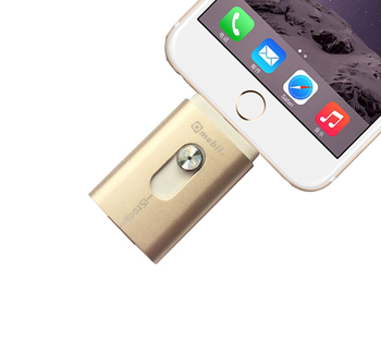 2016 latest  Metal USB i-Flash Drive  Memory Stick Storage U disk For Ipad MiNi Air   iPhone 5 5S 5c 6 6S 6 plus 6S plus pc