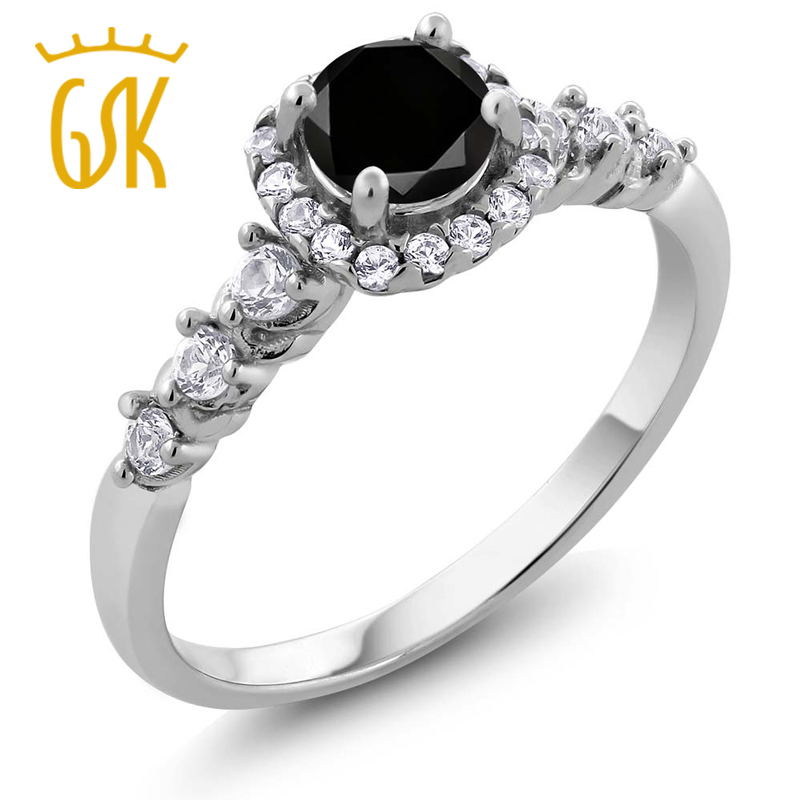 line Get Cheap Black Diamond Engagement Rings Aliexpress