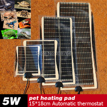 Hot Selling 5W 15*18CM Armer Bed Mat Pad Amphibians Adjustable Temperature Pet Reptile Heating Heater Dog Heat Pad For Sale(China (Mainland))