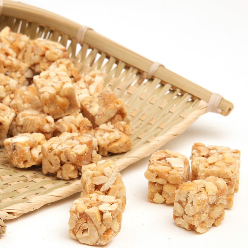 Cashew nut crisp Chinese snacks sucrose in sugar free peanut cashew cake Chinese food 220g 2F316