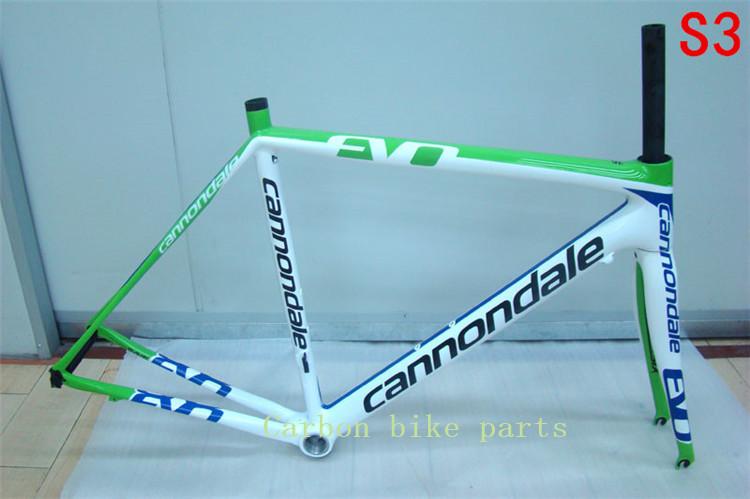 Carbon Frame Super light road bike carbon fiber frameset size 48CM,50CM,52CM,54CM,including fork,headset,seatpost,clamp!(China (Mainland))