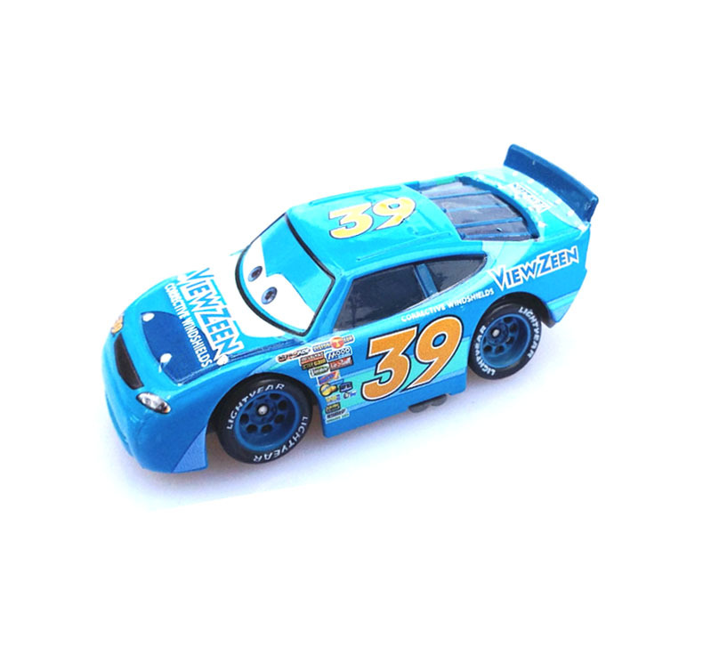 Pixar Movie Cars Diecast Toy # 39 View Zeen Exclusive Loose(China (Mainland))