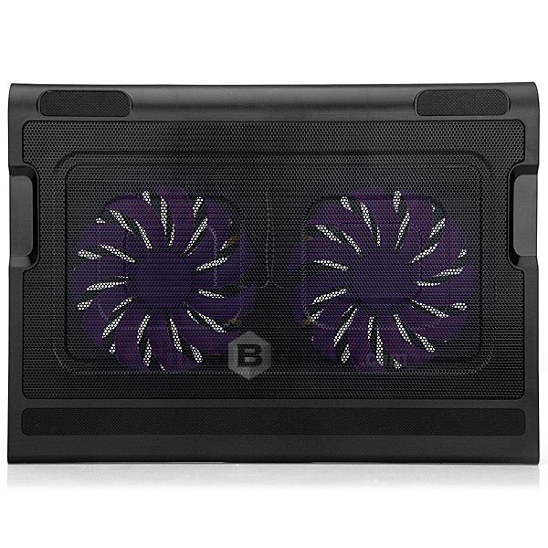 KX-06 USB 2.0 Two Luminous Fans Unique Integrated Skid Design Notebook Cooling Cooler Pad for 14 15.6 17 Inch Laptops(China (Mainland))