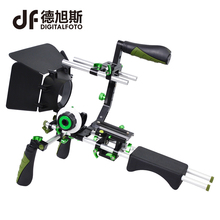 Buy DSLR 5DII rig video 5D2 camera slr dslr rig shoulder mount cage handle stabilizer steadicam steadycam follow focus matte box for $245.70 in AliExpress store