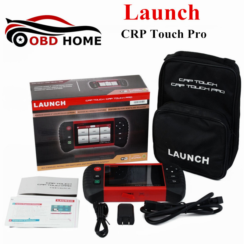 """2016 Launch CRP Touch Pro 5"""" Android Full Diagnostic System EPB/DPF/TPMS/Oil Light/Battery Management Registration WiFi Scanner(China (Mainland))"""