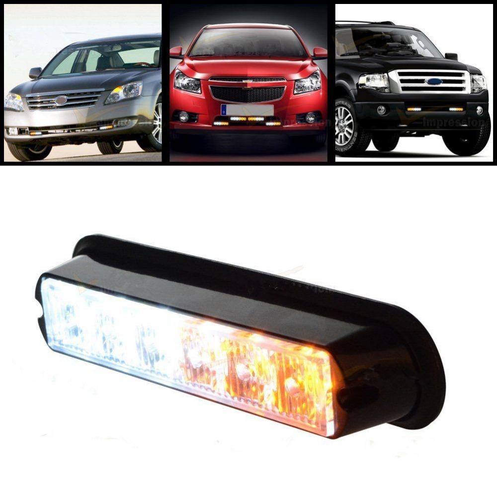 led warning beacon emergency car truck strobe flash 6led light bar. Black Bedroom Furniture Sets. Home Design Ideas