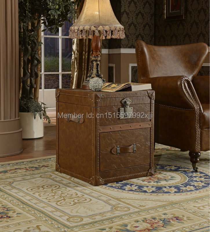 2016 Archivadores Living Room Cabinets Antique Chest Moveis Antigos Para Sala American Style Cabiner Sofa Side Cabinet X018a(China (Mainland))