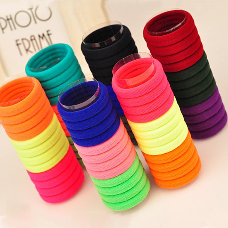 Hairbands wholesale 20pcs/set hairband ultra high elastic rubber band hair rope(China (Mainland))